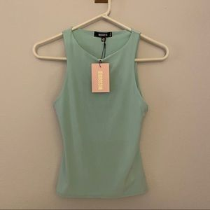 Missguided Mint tank top